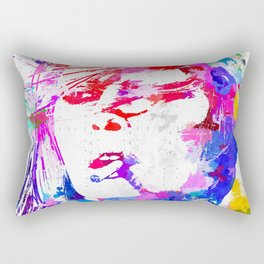 Bardot Watercolor Rectangular Pillow