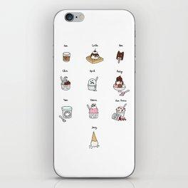 Parks and Rec Ice Cream iPhone Skin