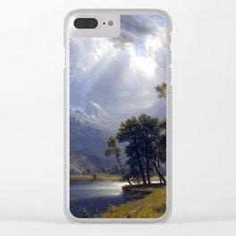 Albert Bierstadt Yosemite Valley Clear iPhone Case