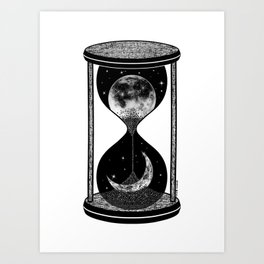 I wish the night would never end Art Print