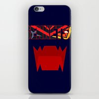 kill la kill iPhone & iPod Skins featuring Senketsu - Kill La Kill by feimyconcepts05