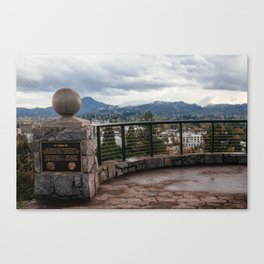 The View from Skinner Butte Canvas Print