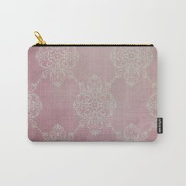 Vintage Damask - Cherry Carry-All Pouch