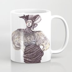 Fashion sketches in mixed technique Mug
