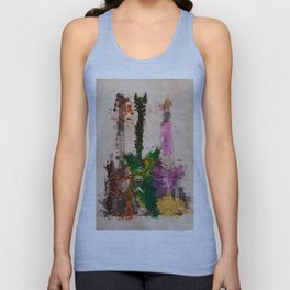 guitars 3 art Unisex Tank Top