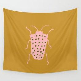 arthropod mustard Wall Tapestry