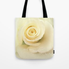 Smell the Roses - iPhoneography Tote Bag