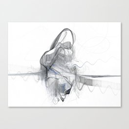 Sawing Canvas Print