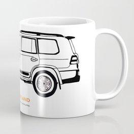 Landcruiser 200 4xOverland Coffee Mug