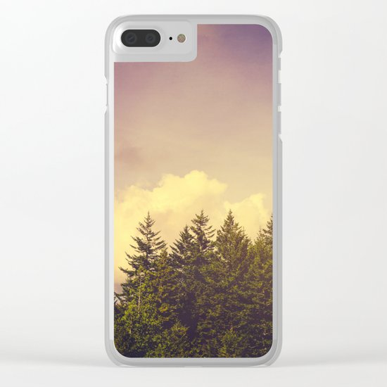 North Wilderness Clear iPhone Case
