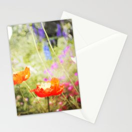 Magic Poppies Stationery Cards