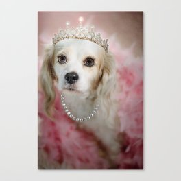 Lady Beatrice Canvas Print