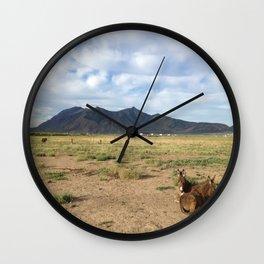 Colorado Cuddle Wall Clock