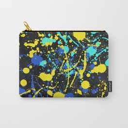 Abstract Creative Splashes Carry-All Pouch