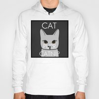 lorde Hoodies featuring Cat Purr Catnip by MySistersaHippie