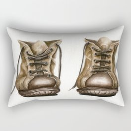 old boot Rectangular Pillow