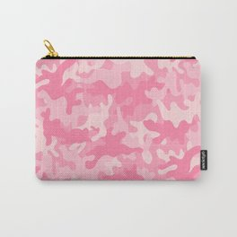 Pink Camouflage Carry-All Pouch