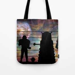 Doctor Who: The Whovian Suspects Tote Bag