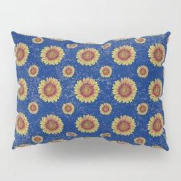 Swirly Sunflower Pillow Sham