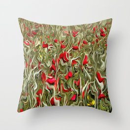Opium Of The Masses Throw Pillow