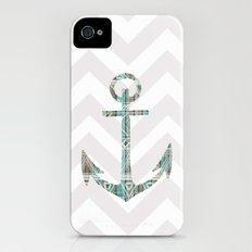 Tribal Anchor and Chevron  Slim Case iPhone (4, 4s)