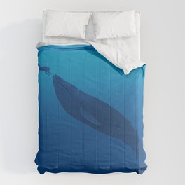 The Whale and a Human Comforters