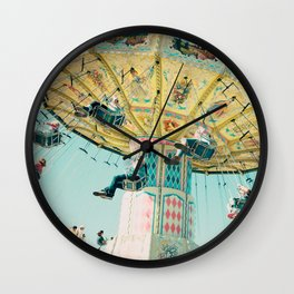 Love A Fair . . . swings Wall Clock