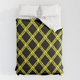 CRIME SCENE CROSSED Comforters