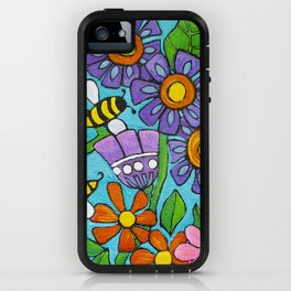 Springtime Series #4 Bee's iPhone Case