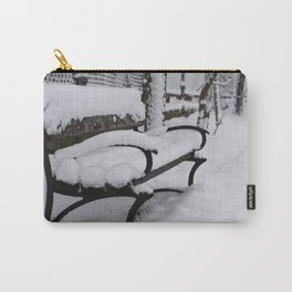 Winter bench Carry-All Pouch