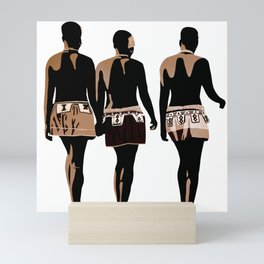 zulu sisters Mini Art Print