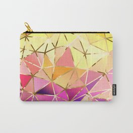 Rainbow Geometric pattern #5 Carry-All Pouch