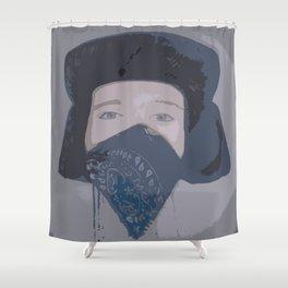 Danger Shower Curtain