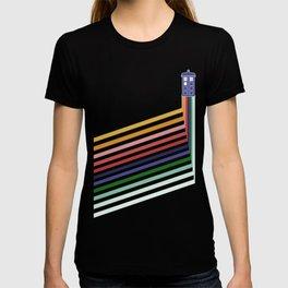 13th Doctor Retro Diagonal Stripes T-shirt