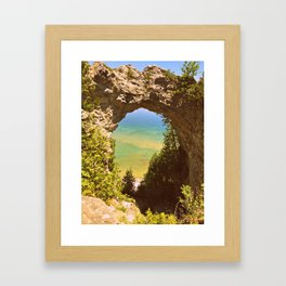 Eye of The Arch Framed Art Print