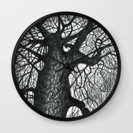 Massive Tree Wall Clock