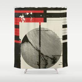« graphique .1 » Shower Curtain