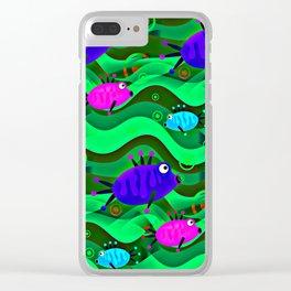 Undwater Aquarium Clear iPhone Case