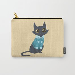 Cozy cat Carry-All Pouch