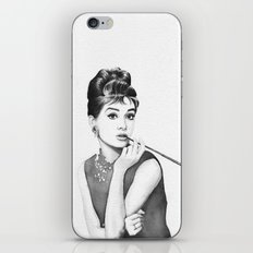 Audrey Hepburn Breakfast at Tiffanys iPhone & iPod Skin