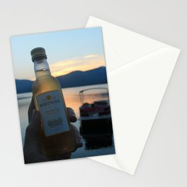 Drinks on the Lake Stationery Cards