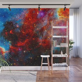 Dreamers In An Endless Universe, Galaxy Background, Universe Large Print, Space Wall Art Decor Wall Mural