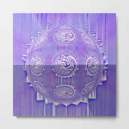 Some Other Mandala 405 Spin-off 1 Metal Print