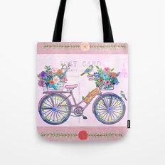 Postcard From Paris Tote Bag