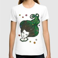 flora T-shirts featuring Flora by Melanie Arias
