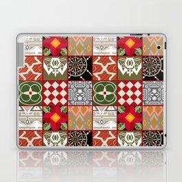 National ethnic patchwork . Laptop & iPad Skin