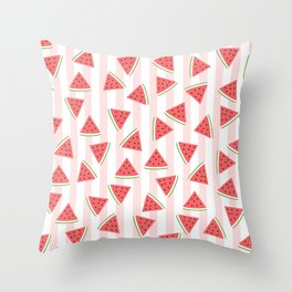 You're The Water to My Melon Throw Pillow