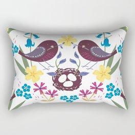 Nest building Rectangular Pillow