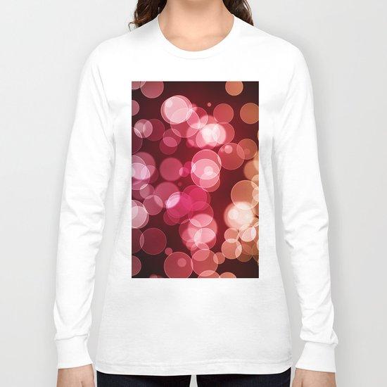 Bokeh Background Long Sleeve T-shirt