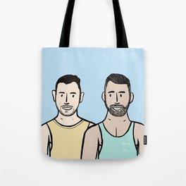 Beard Boy: Jonny & Anthony Tote Bag